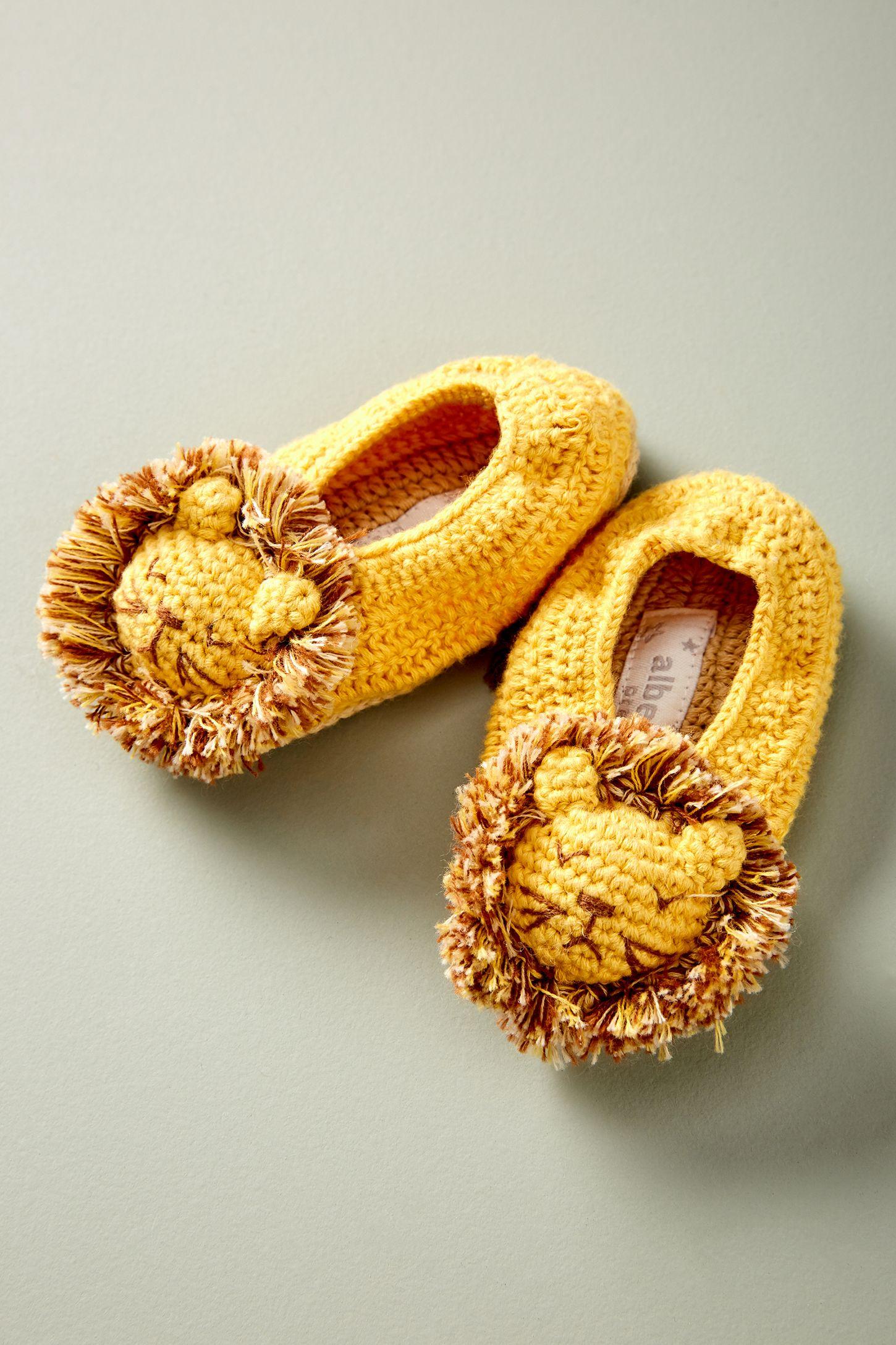 Crocheted Booties | Anthropologie