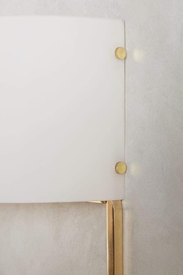 Slide View: 3: Golden Perch Sconce