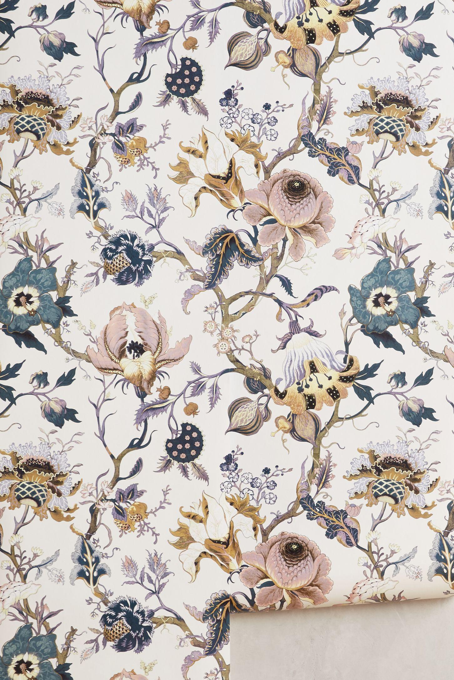 Vintage kitchen wallpaper patterns - Artemis Wallpaper