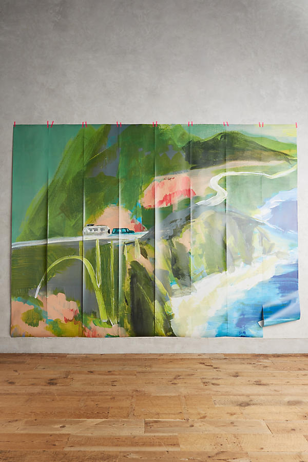 Slide View: 2: Décor mural Passing Countryside