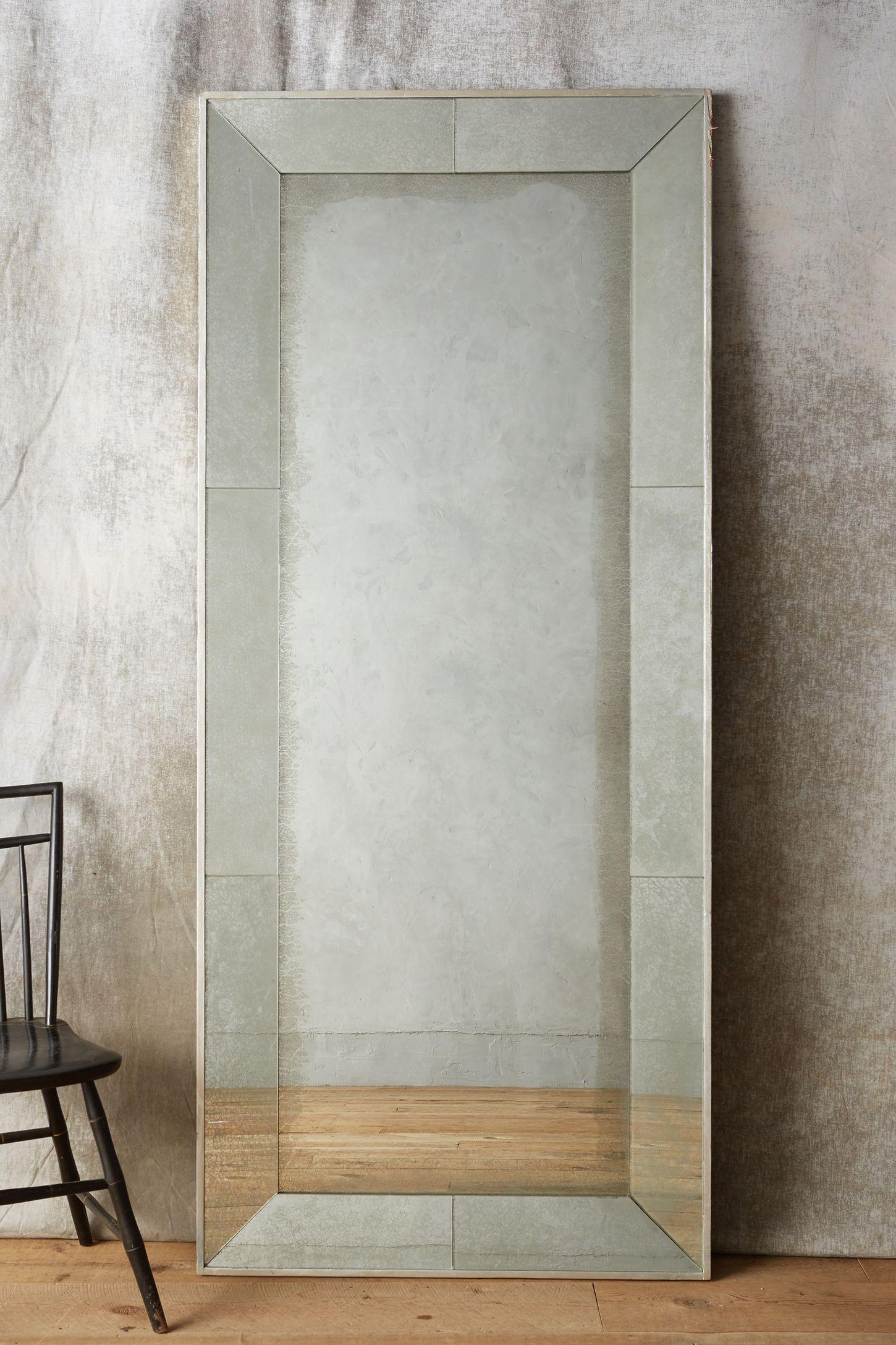 Silver Framed Full Length Mirror Designs