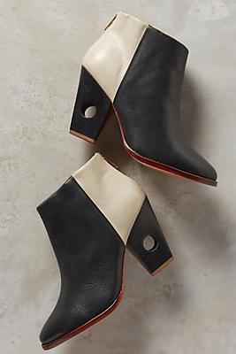 Nina Payne Halsey Cutout Heel Booties
