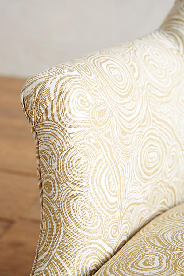 Slide View: 3: Malachite-Printed Parker Chair