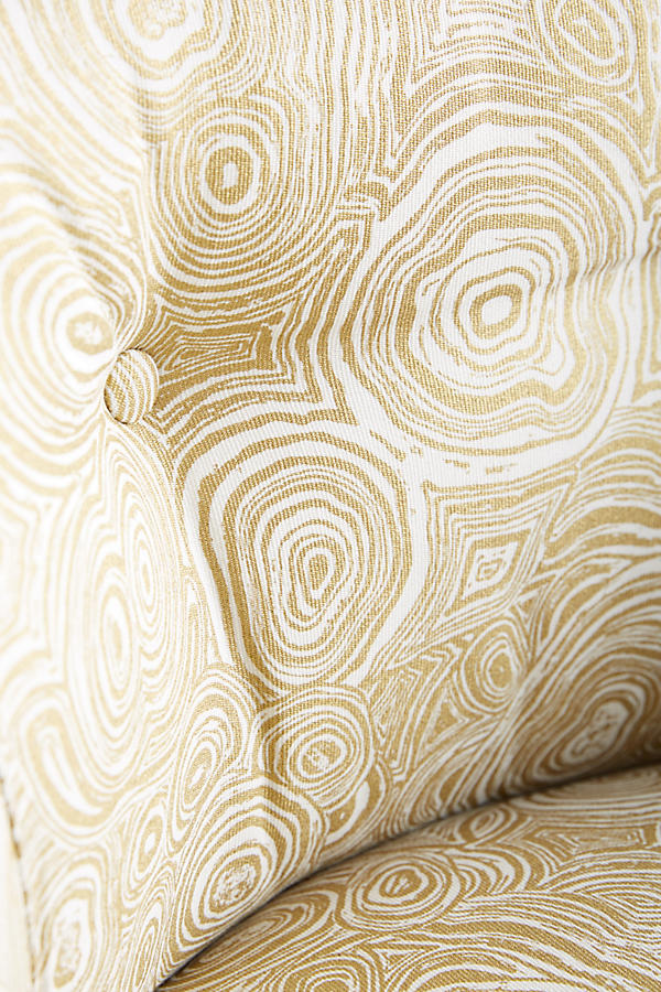 Slide View: 4: Malachite-Printed Parker Chair
