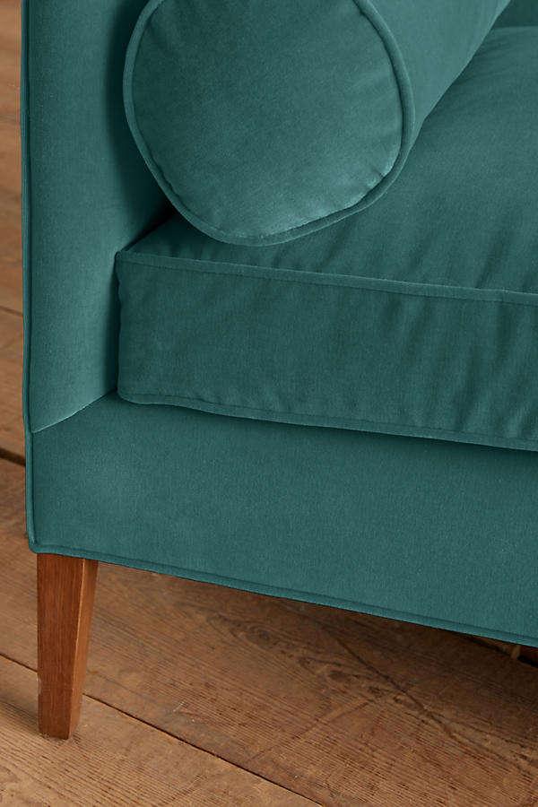 Slide View: 3: Velvet Harper Sofa
