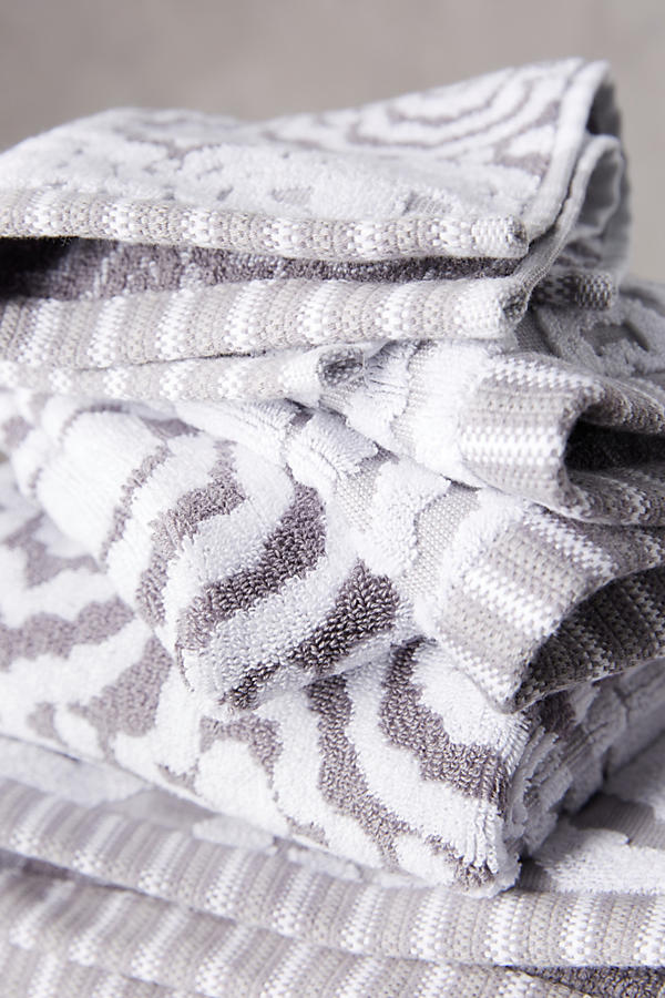 Slide View: 3: Yarn-Dyed Ruana Towel Collection