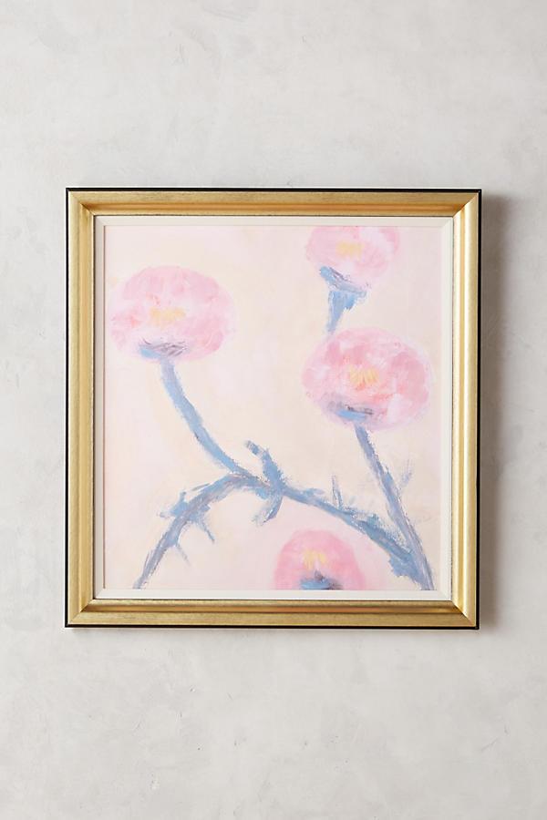 Slide View: 1: Pink Rose Wall Art