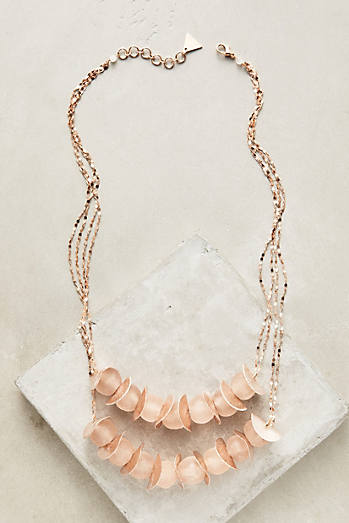 Rose Rain Necklace