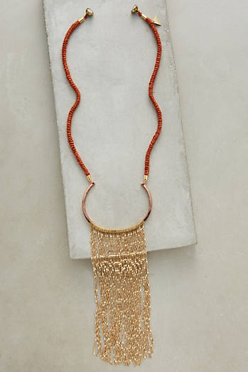Lucienne Fringe Necklace