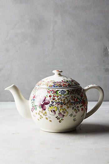Slide View: 1: Gien Bagatelle Teapot