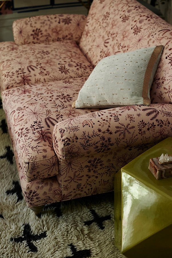 Slide View: 6: Sylvania-Printed Willoughby Settee, Wilcox