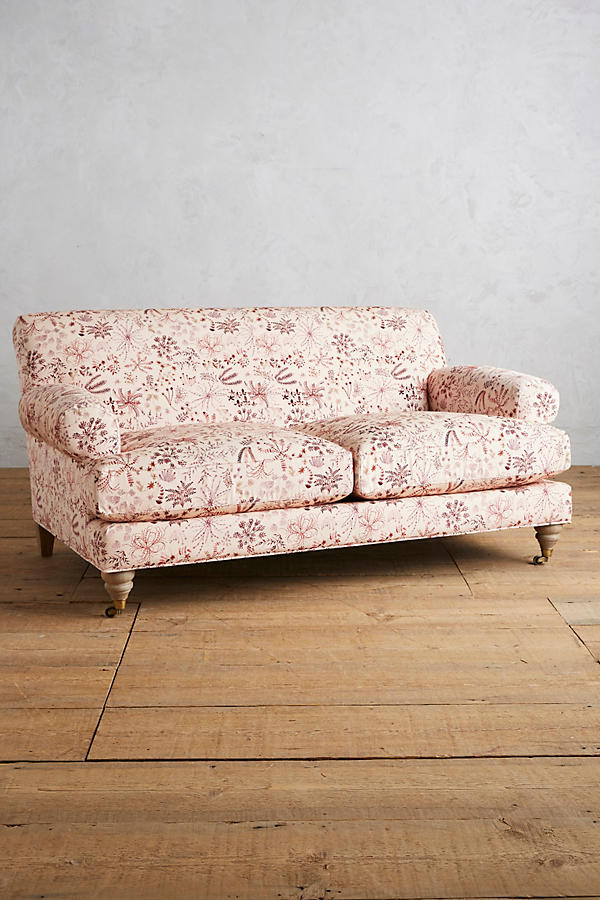 Slide View: 1: Sylvania-Printed Willoughby Settee, Wilcox