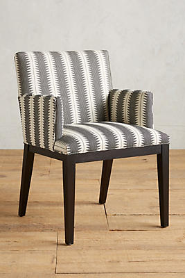 Suren-Striped Emrys Armchair