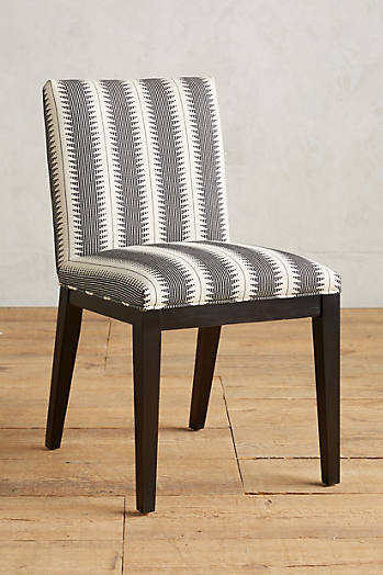 Slide View: 1: Suren-Striped Emrys Chair