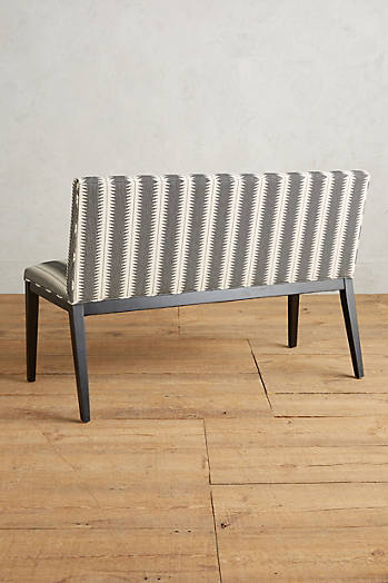 Slide View: 2: Suren-Striped Emrys Bench