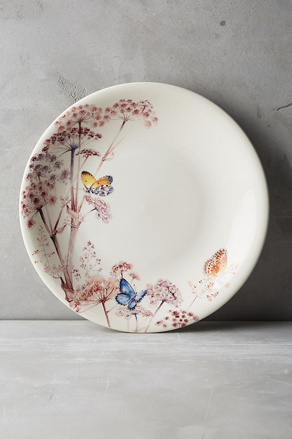 Slide View: 1: Gien Azur Dinner Plate