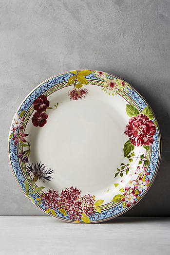 Slide View: 1: Gien Millefleurs Dinner Plate