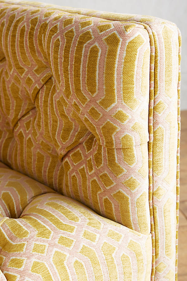 Slide View: 3: Trellis-Woven Mina Chair