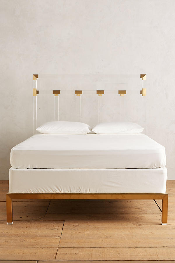 Slide View: 3: Oscarine Lucite Bed