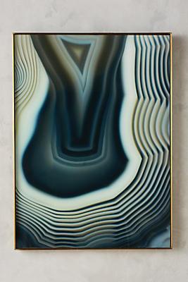 Slide View: 1: Agate Sliced Wall Art