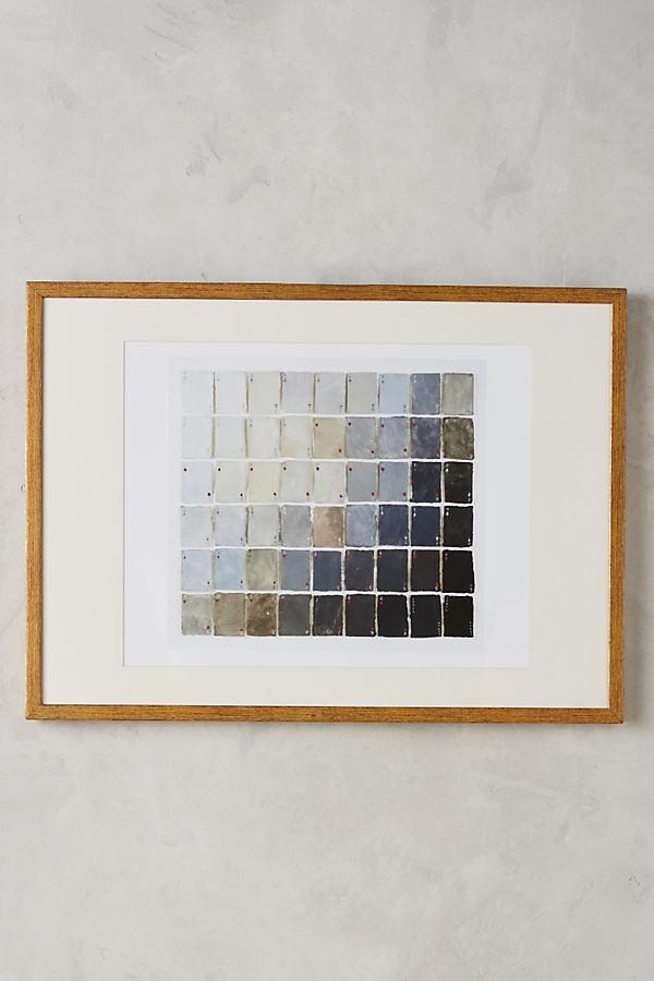 54 Shades of Grey Wall Art - Grey Motif
