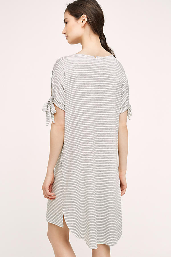Slide View: 2: Striped Tee Dress