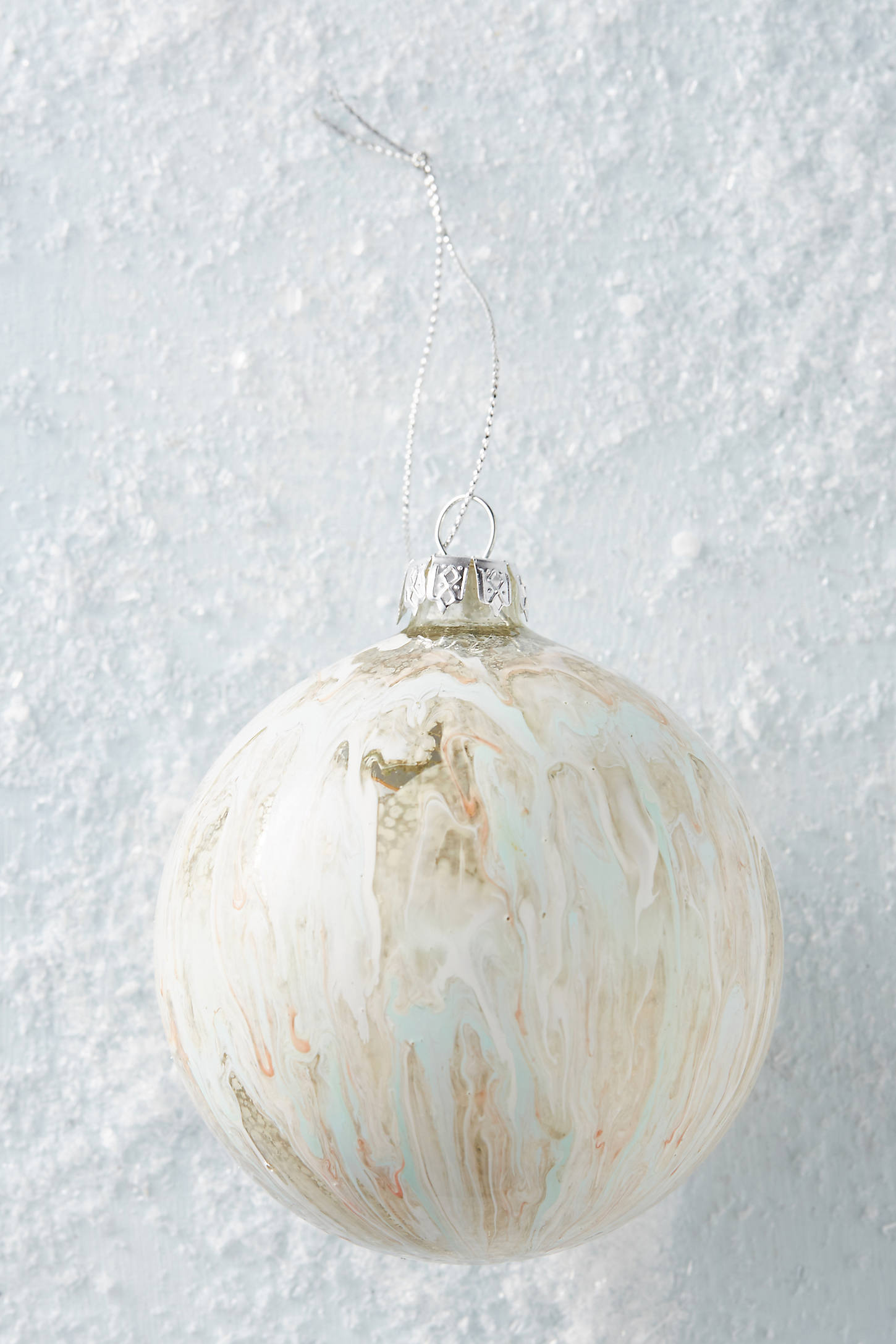 Marbled Ornament