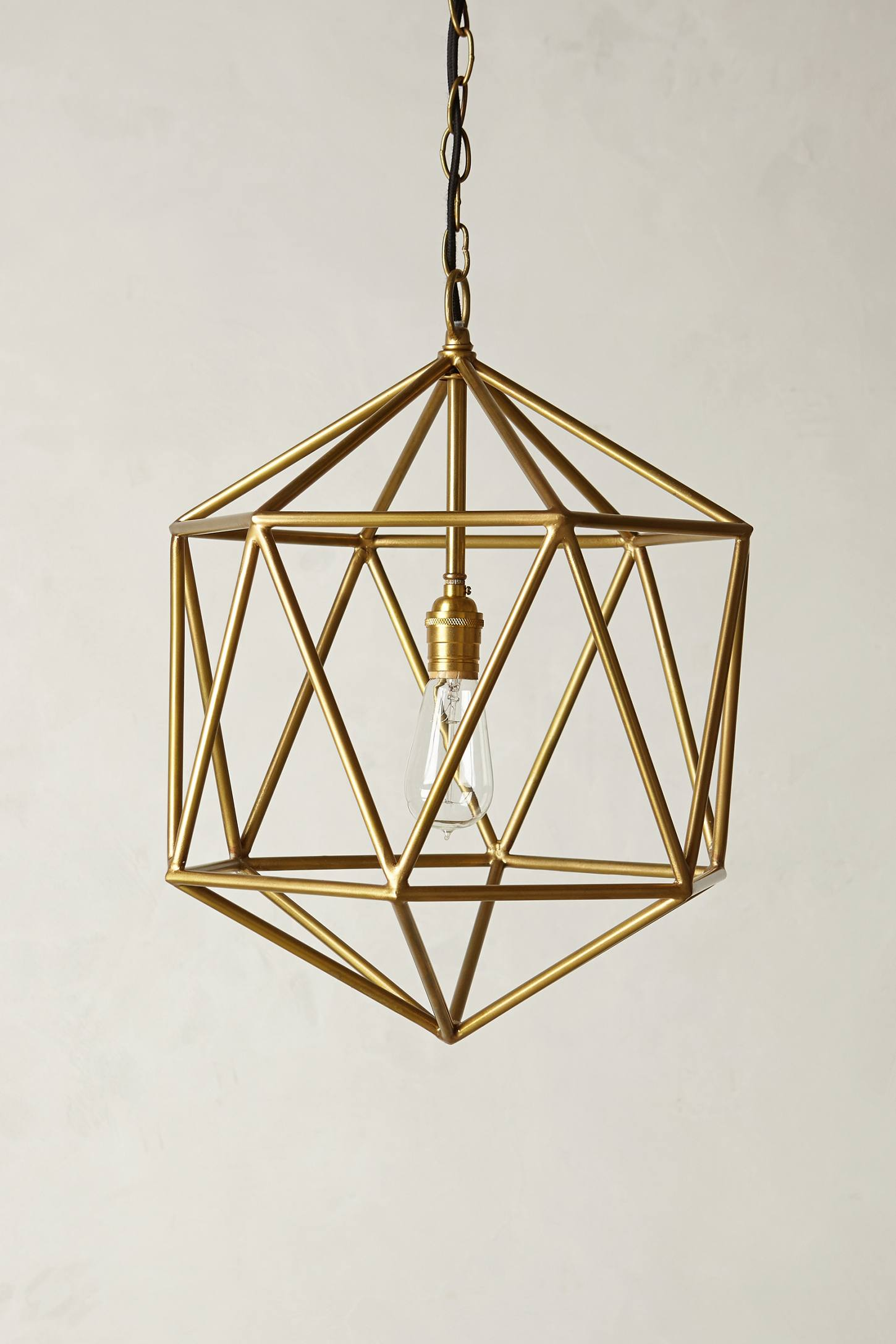 Euclidean Pendant Faceted Orb Anthropologie