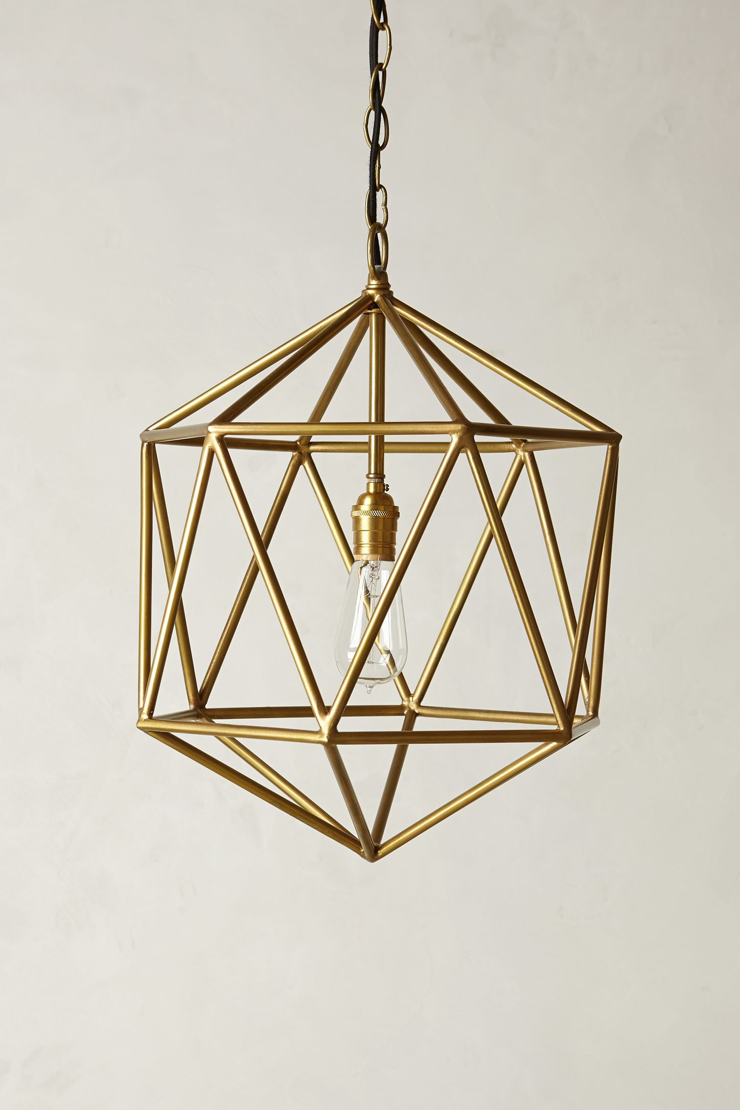 Euclidean pendant faceted orb anthropologie aloadofball