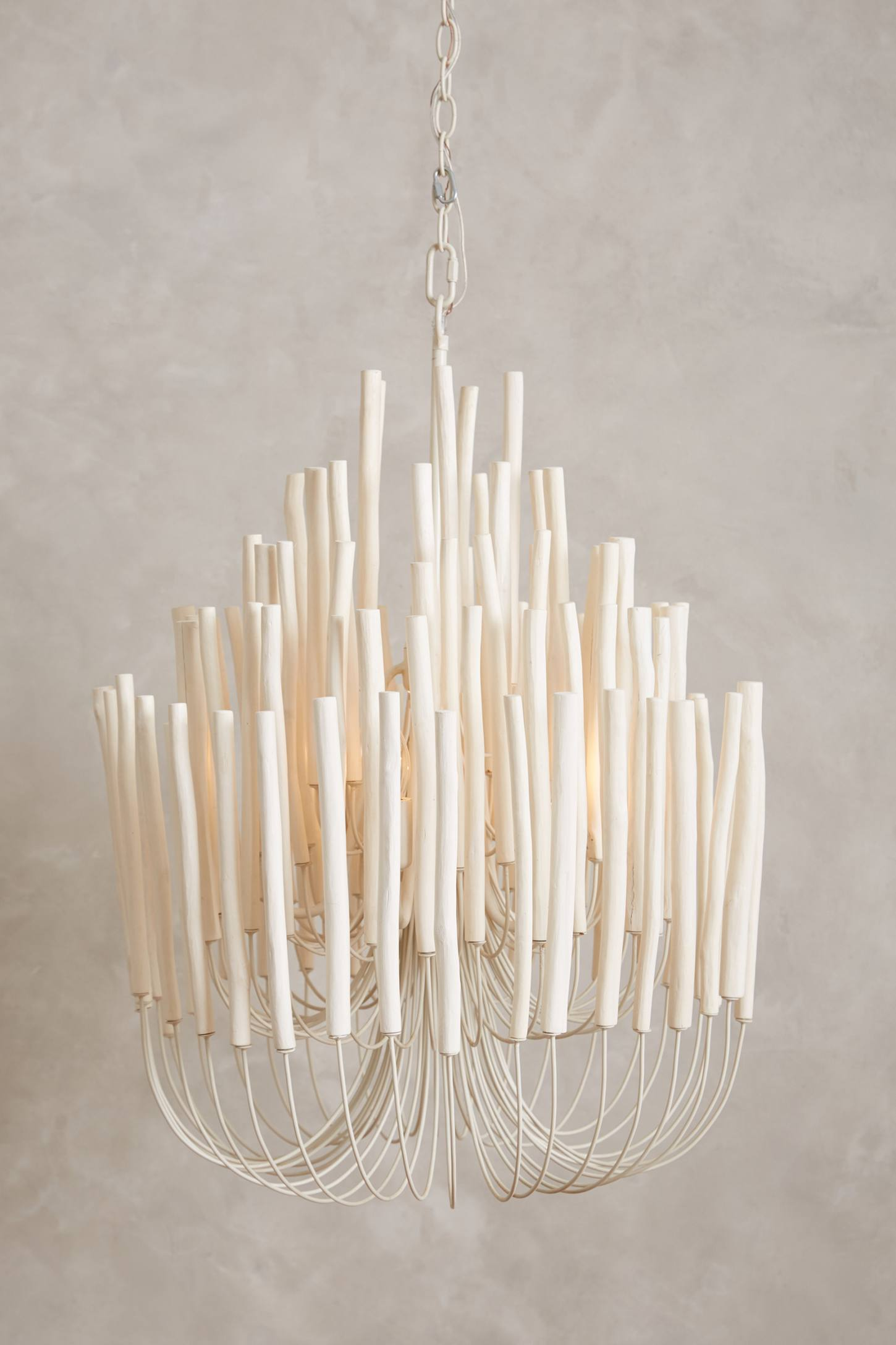 Tiered Tapers Chandelier