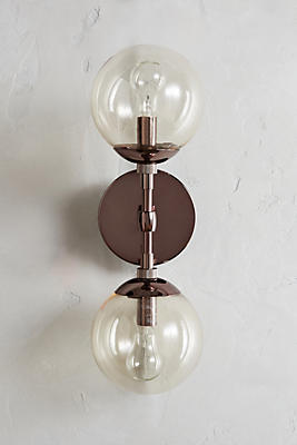 Slide View: 1: Double Perryman Sconce
