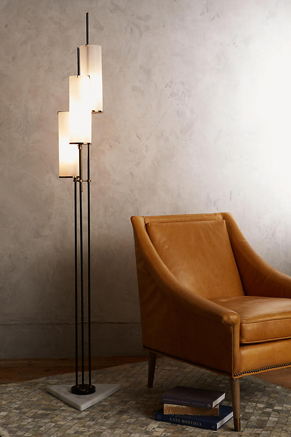 Slide View: 2: Clustered Torchiere Floor Lamp