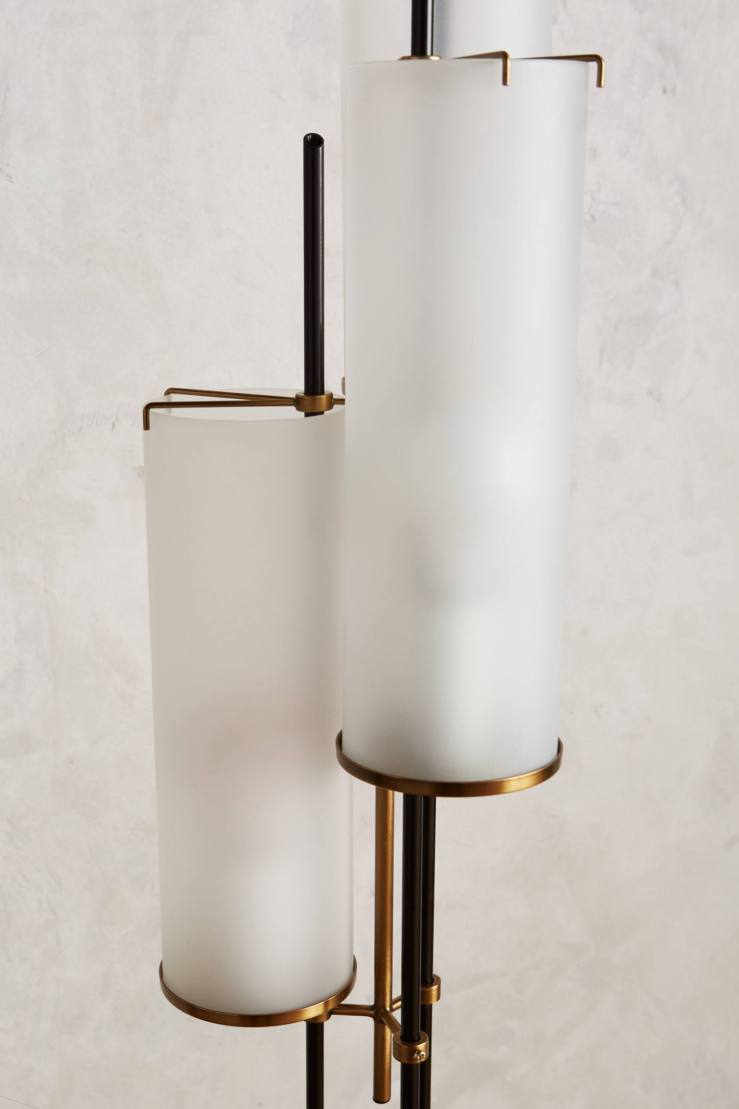 Slide View: 3: Clustered Torchiere Floor Lamp