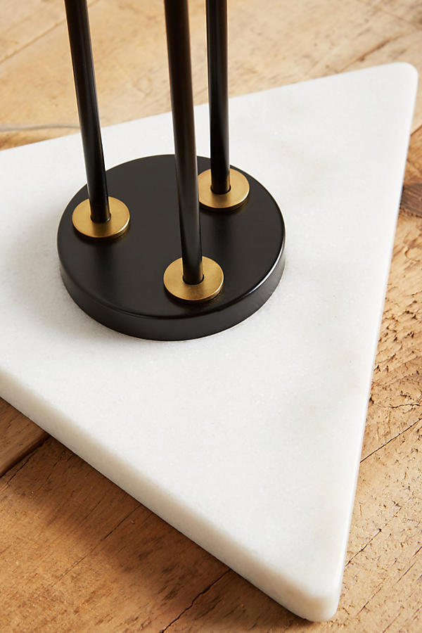 Slide View: 4: Clustered Torchiere Floor Lamp