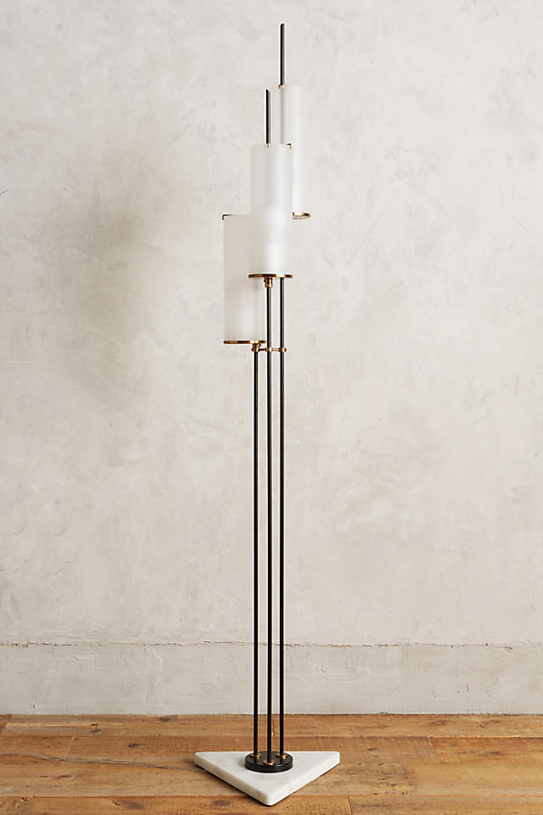 Slide View: 1: Clustered Torchiere Floor Lamp