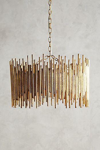 Unique chandeliers pendant lighting anthropologie gathered glow chandelier aloadofball Images