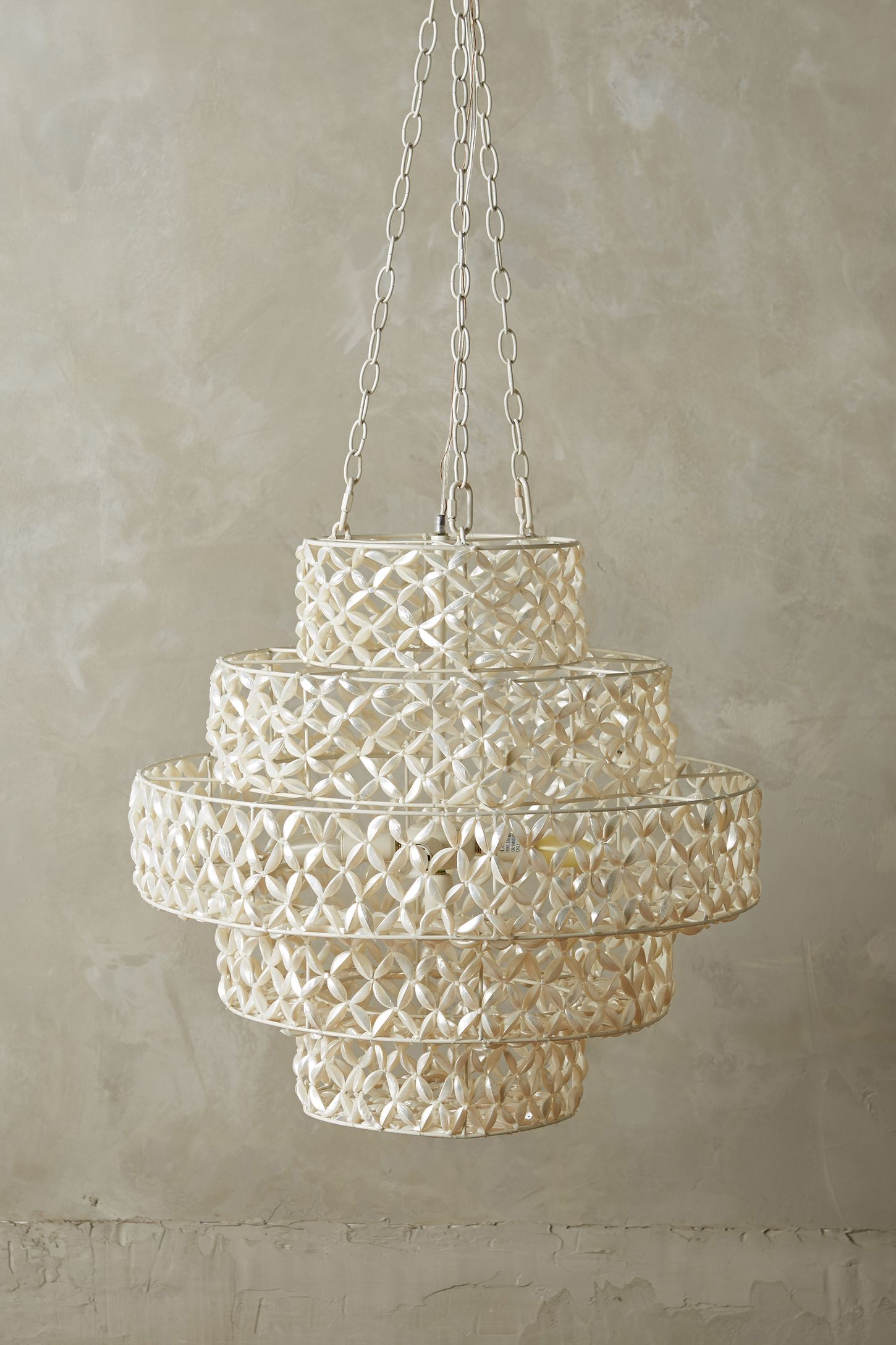 Biarritz tiered chandelier anthropologie arubaitofo Choice Image