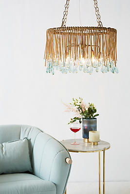 Slide View: 1: Tallis Teardrop Chandelier