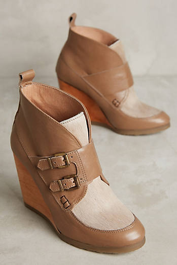 Cubanas Melody Wedge Booties