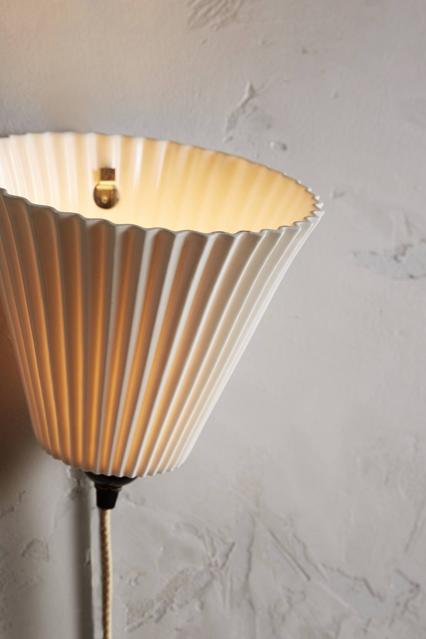 Hector Pleat Wall Light Anthropologie