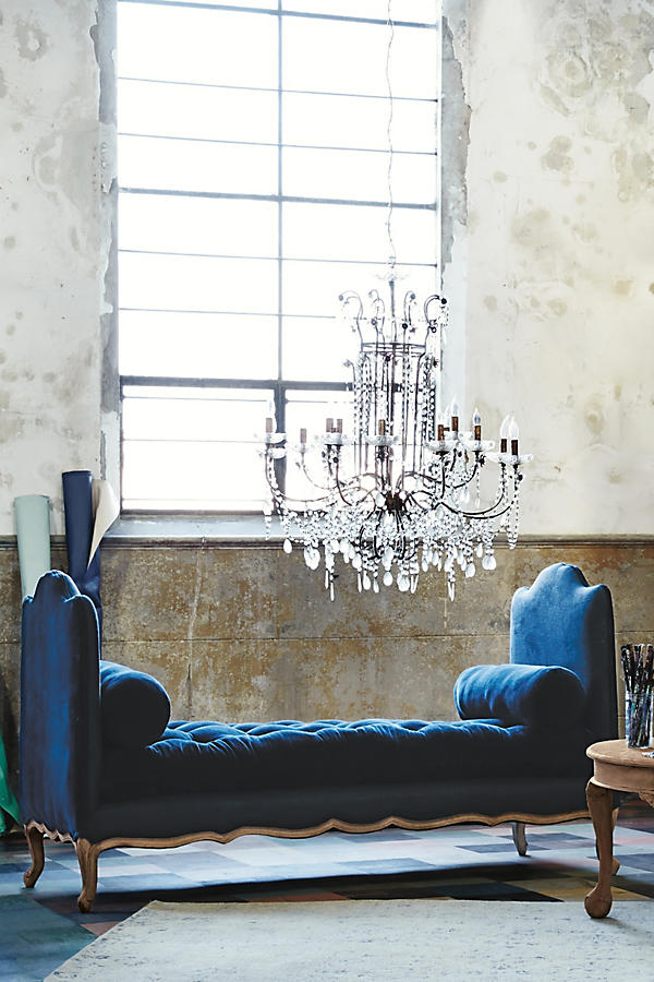 Slide View: 9: Draped Bijoux Chandelier