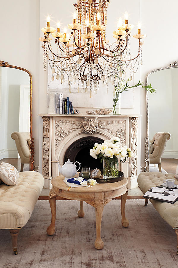 Slide View: 7: Draped Bijoux Chandelier
