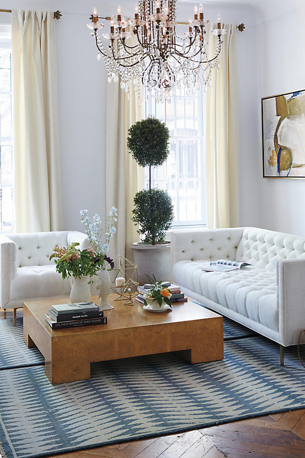 Slide View: 5: Draped Bijoux Chandelier