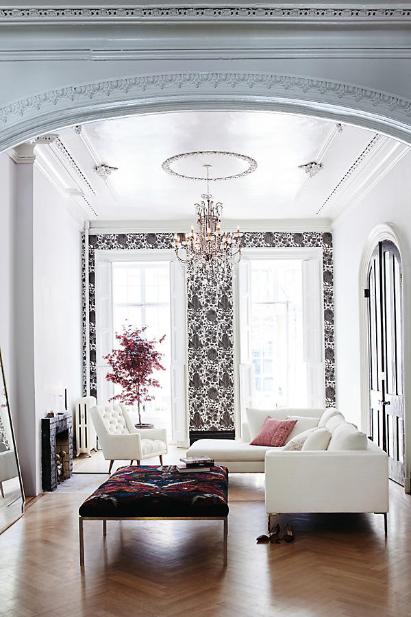 Slide View: 4: Draped Bijoux Chandelier