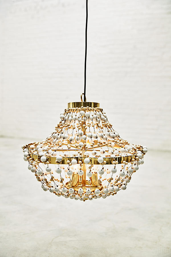 Slide View: 10: Abalorio Chandelier