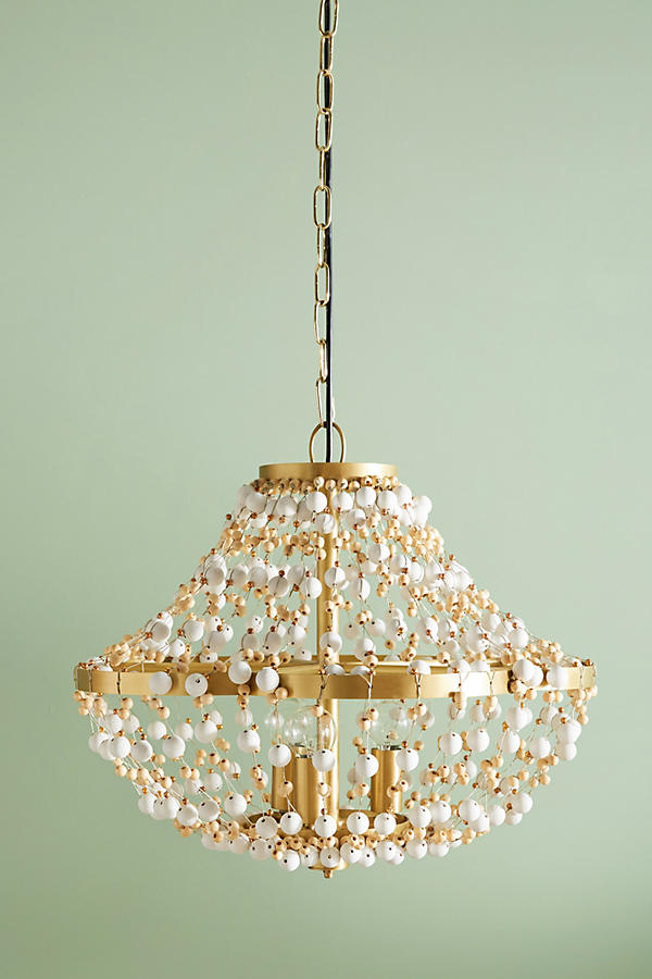 Slide View: 3: Abalorio Chandelier