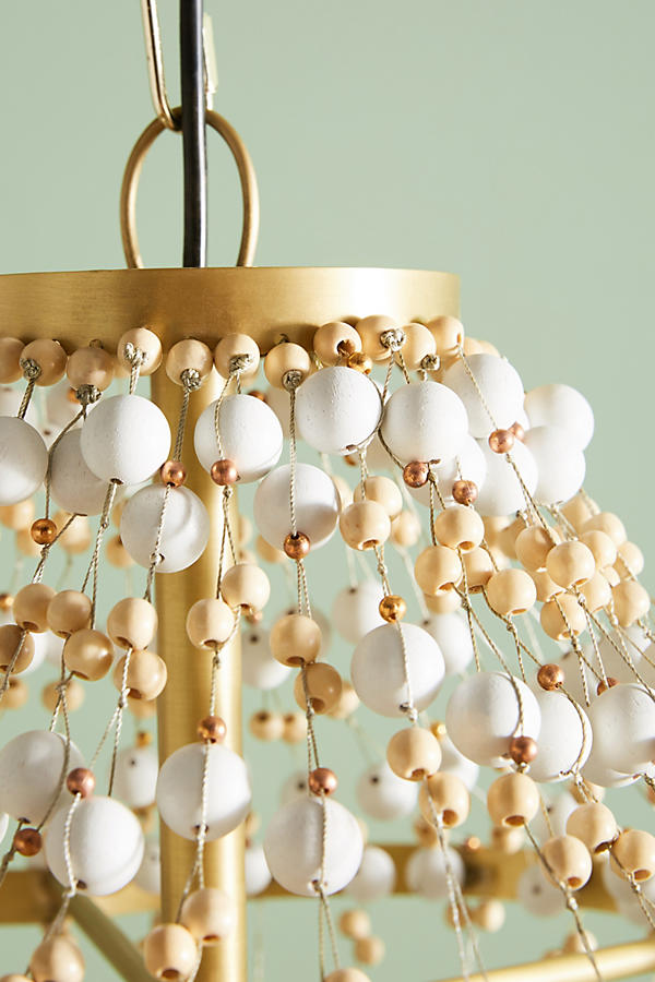 Slide View: 4: Abalorio Chandelier