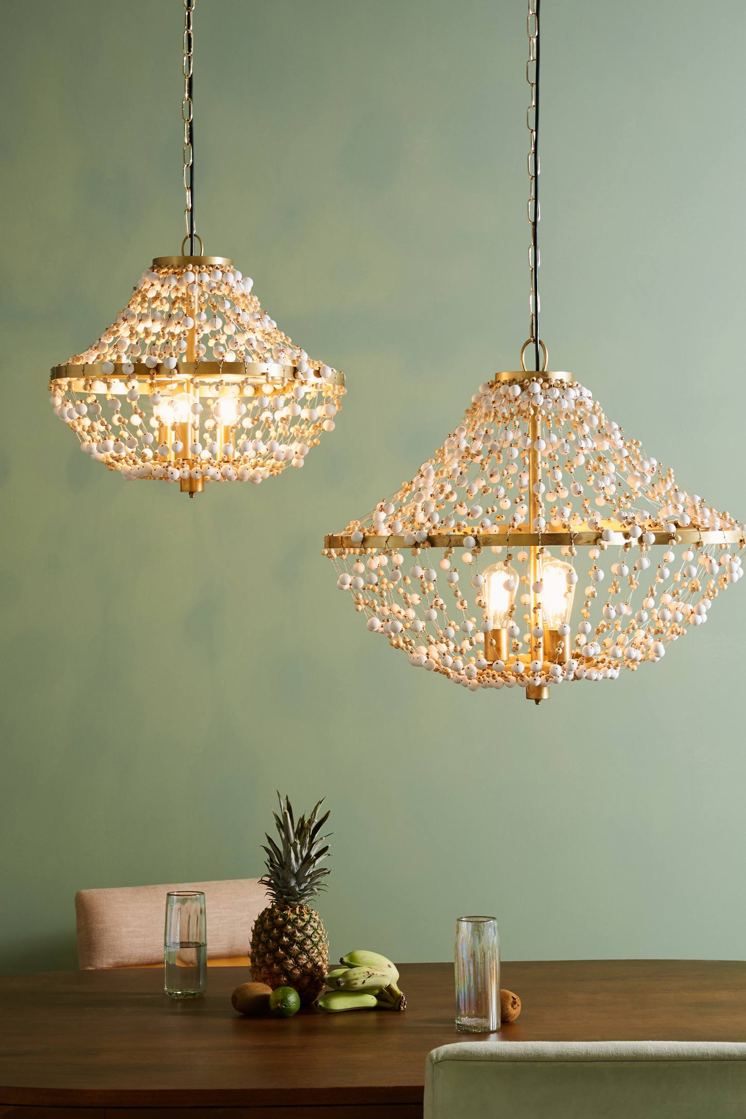 Slide View: 1: Abalorio Chandelier