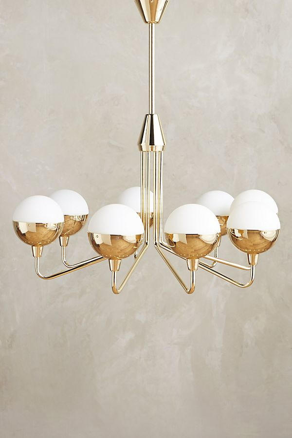 Anchored Orb Chandelier Anthropologie