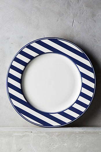 Slide View: 1: Caskata Beach Towel Dinner Plate